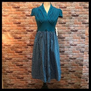 NWT Lindy Bop 50's Megan Rockabilly Dress